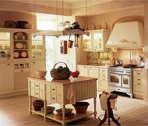 Country Kitchen Style Picture