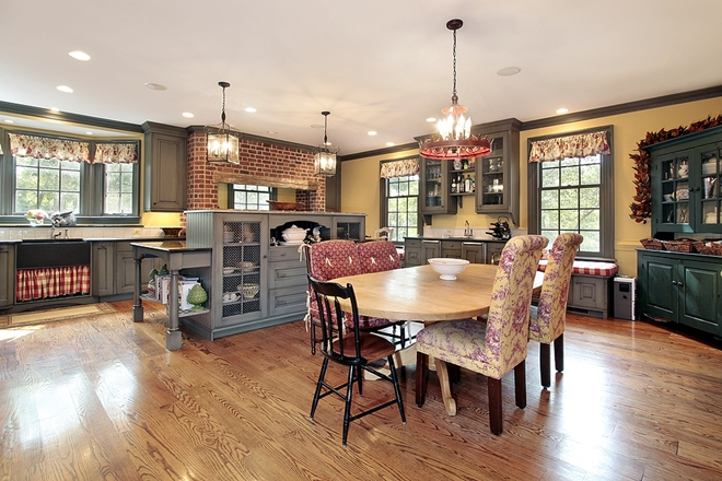 Country kitchen classic, eclectic