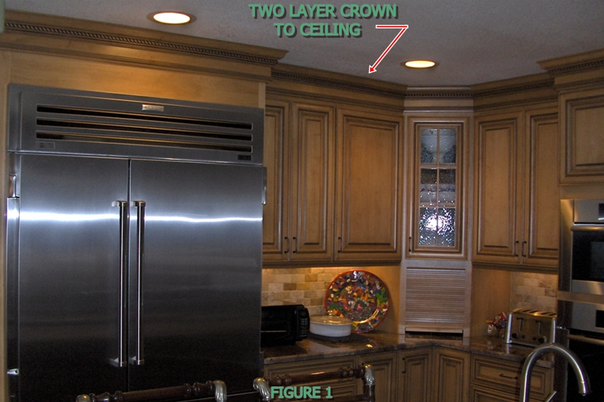 Picture of Two Layer Crown to Ceiling