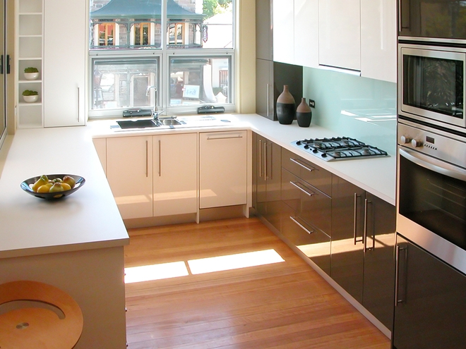 modern contemporary style kitchen picture